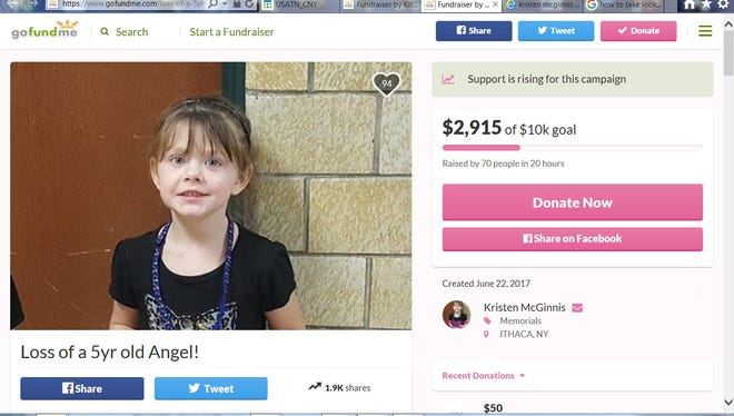 A GoFundMe page was set up for the family of Annalise Buckley.