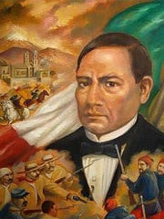 Mexican President Benito Juarez urged resistance and