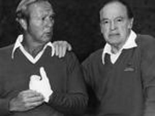 Arnold Palmer and Bob Hope