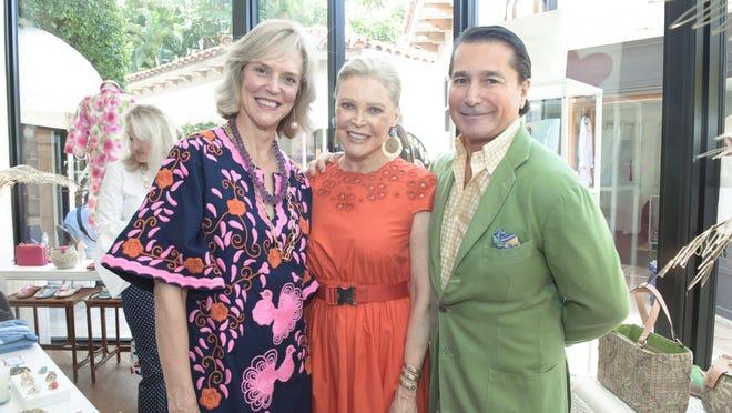 Louisa Benton, Audrey Gruss and Scott Snyder.