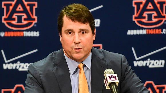 Will Muschamp.is Auburn's new defensive coordinator.