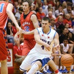 Senior Tayler Persons, pictured as an Indiana All-Star, will transfer from Northern Kentucky to Ball State.