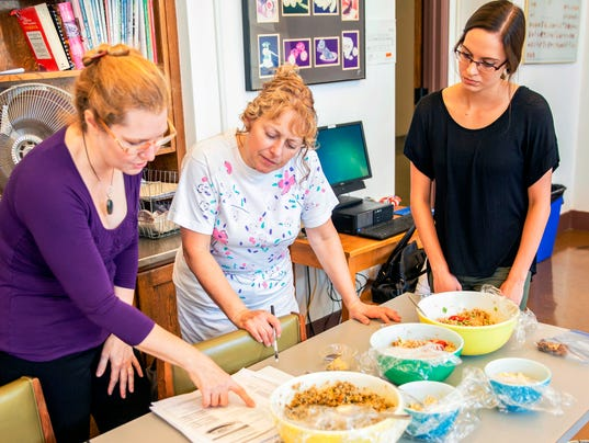 Health recipes for food pantries