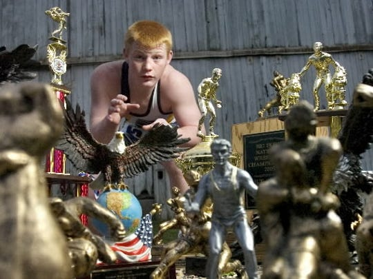 Chance Marsteller,  14 years old and in eighth grade