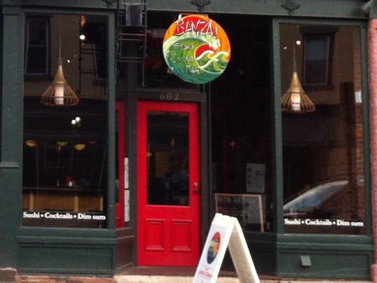 Banzai Sushi & Cocktail Bar, 682 South Ave., has closed.