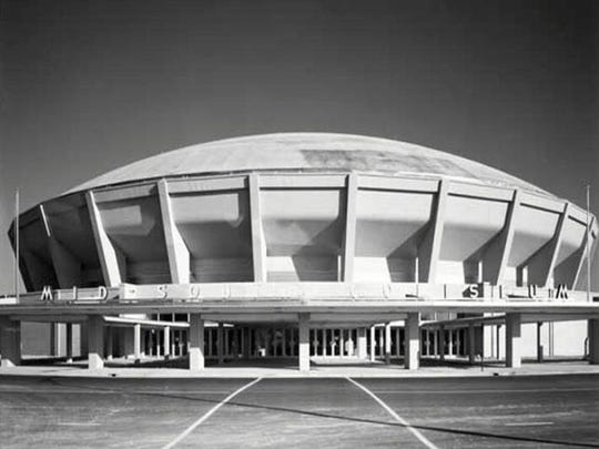 Mid South Coliseum at 996 Early Maxwell Blvd., Memphis.