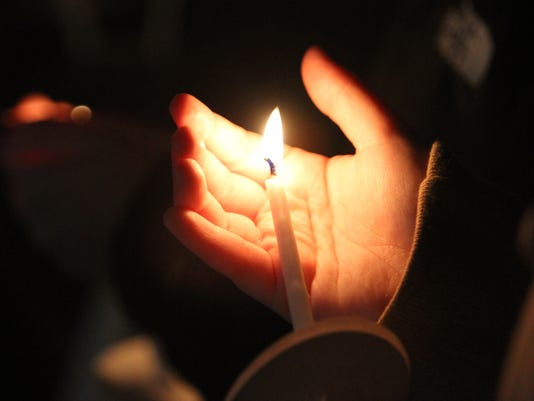 web art memorium candle