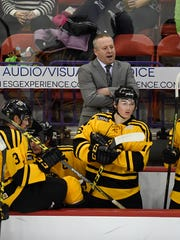 Pat Mikesch has been a member of the Green Bay Gamblers coaching staff since 2011. His three children play high school or youth hockey in the area.