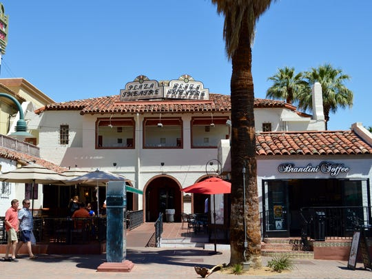 The Plaza Theatre in downtown Palm Springs is among the properties that once belonged to the city's redevelopment agency.
