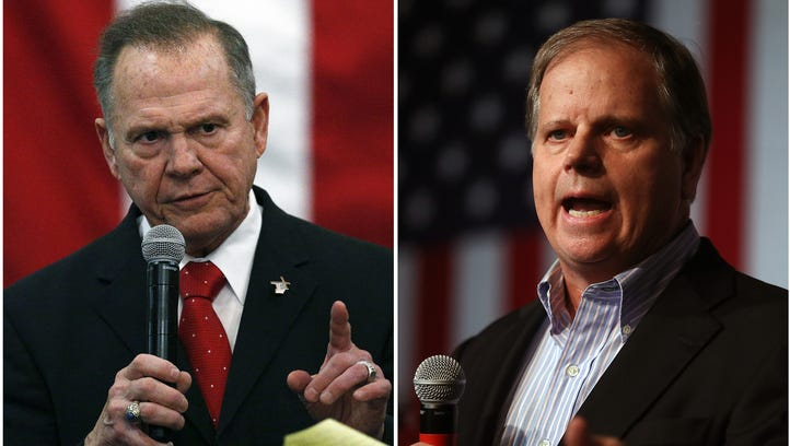 Republican Roy Moore and Democrat Doug Jones are vying