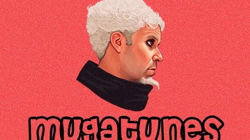 Logo for Mugatunes – an up and coming music sharing website