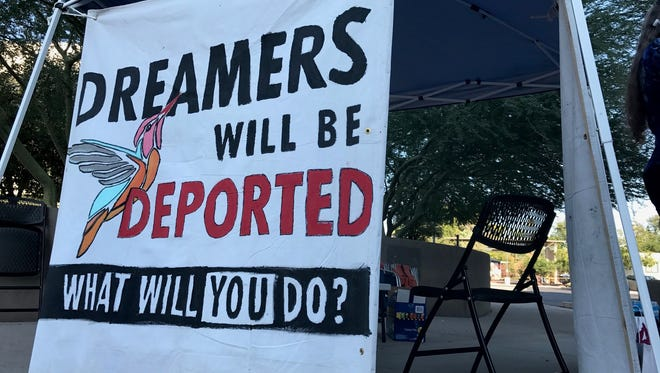 With a Sept. 5 deadline looming, immigrant advocates in Arizona and across the country have launched a campaign to pressure President Trump to keep the program in place.