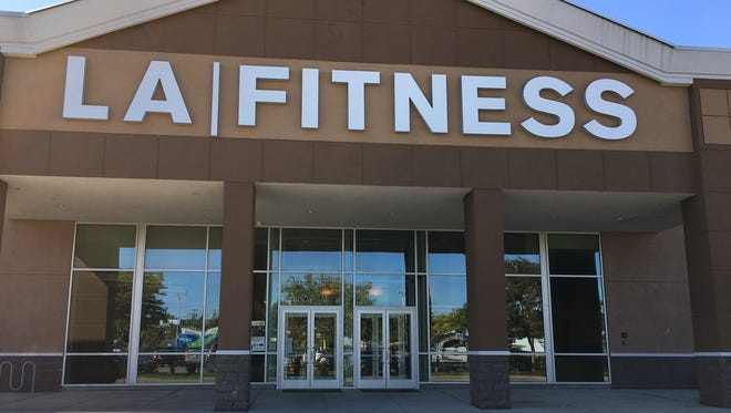 The LA Fitness health club in East Brunswick where Joseph Szabo lost consciousness in the swimming pool two years ago.