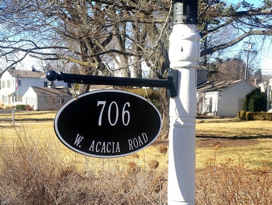 New house numbers can help a home look cared for and