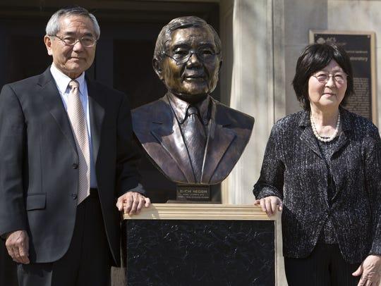 Nobel laureate  and Purdue University professor Ei-ichi