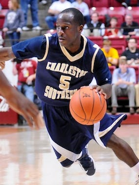 Charleston Southern guard Saah Nimley returns for his junior season after averaging 15.9 points per game as a sophomore.