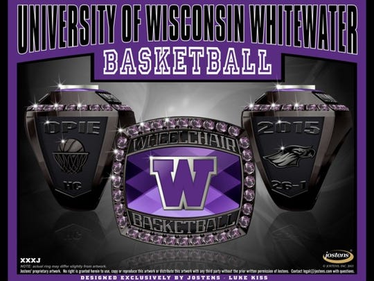 UW-Whitewater 2015 men's wheelchair basketball championship
