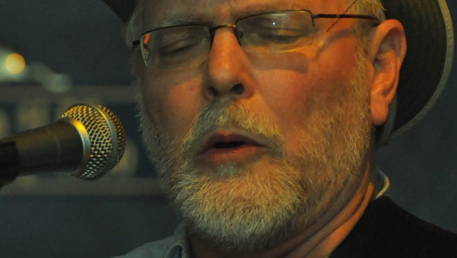 Musician Jim Crozier will be in the lineup for Saturday's blues review at the Monticello Opera House.