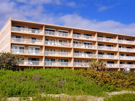 The Boardwalk condominium building near Minutemen Causeway