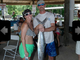 Veronica Terefenko and Jason Borca with a 13-pound