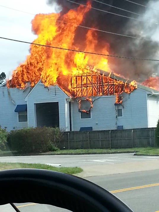 va beach two alarm fire that displaced 23 ruled accidental