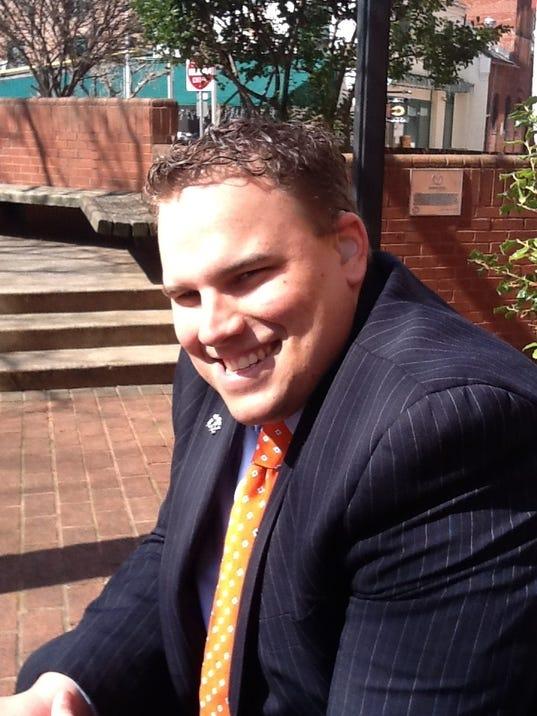 Meet Bryan Adamson. He's a financial adviser at Merrill Lynch and a motivational speaker.