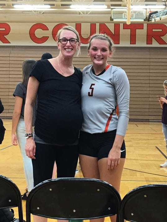 Kristy Husen and Megan Taylor