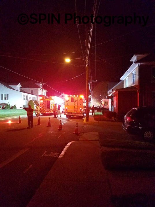 108 N. Constitutin Ave. fire, New Freedom