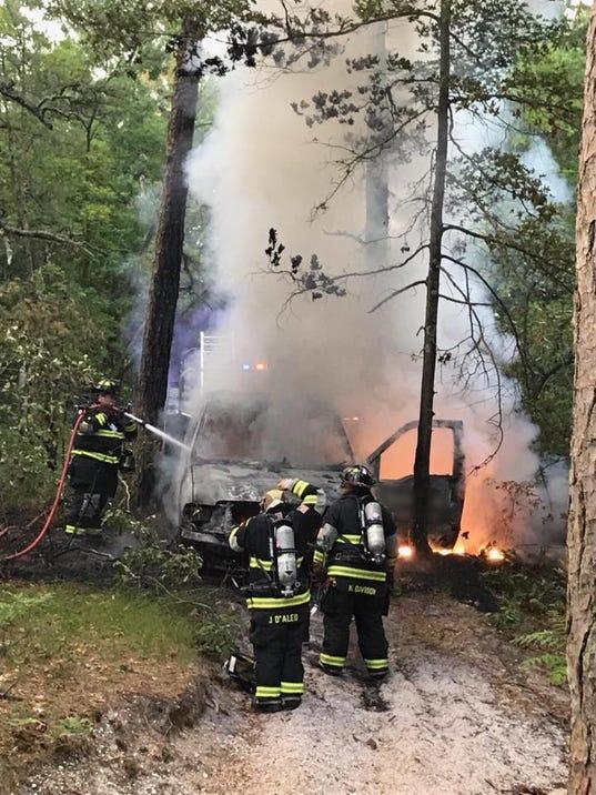 Beachwood Truck Fire