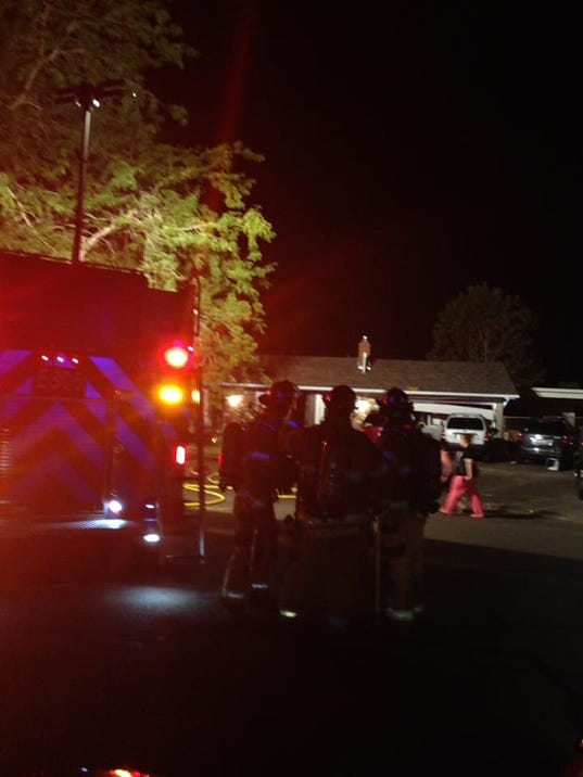 Marion County Fire investigates garage explosion