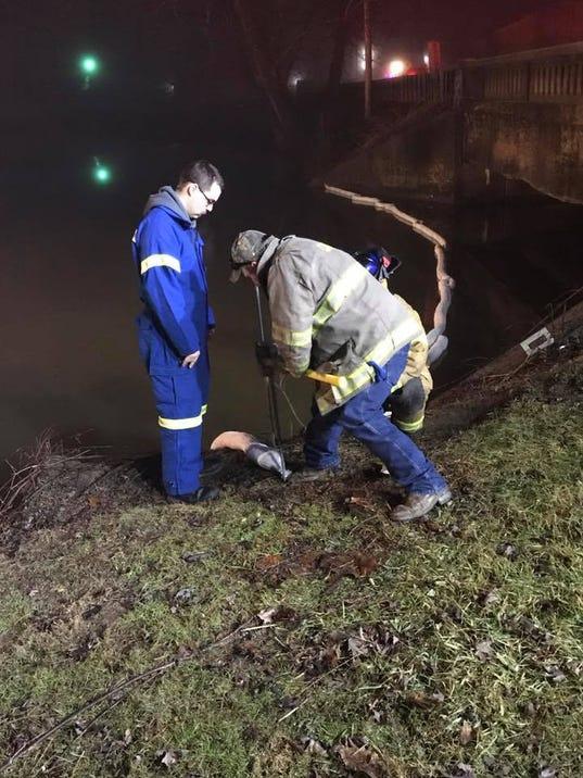 Home heating oil spill brings Hazmat response