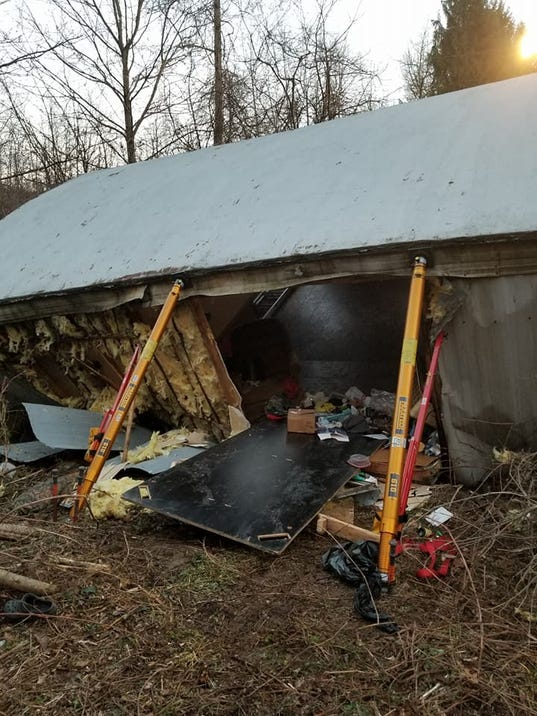 Lower Windsor Twp. mobile home collapse