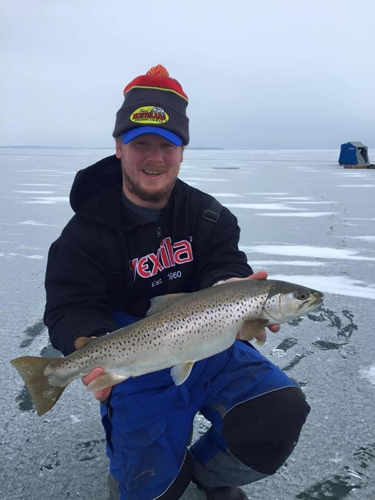 Northwest wisconsin fishing report for jan 28 for Wi fishing report