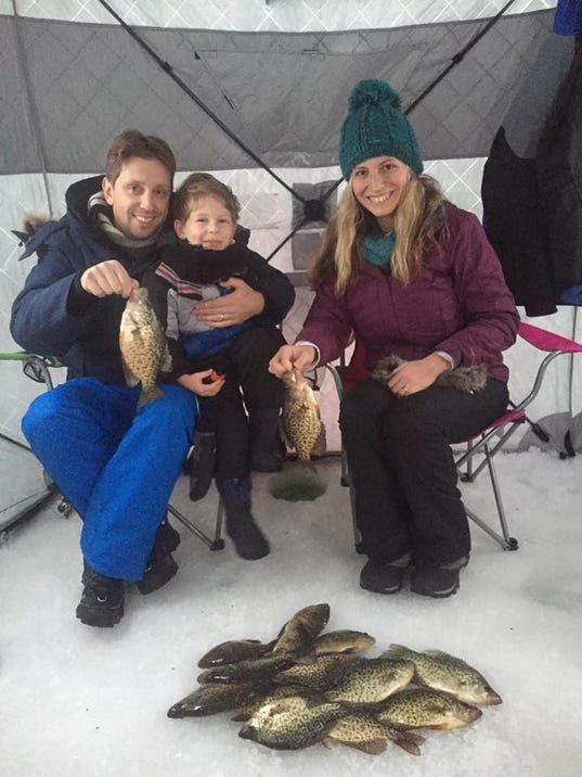 Northwest wisconsin fishing report for jan 12 for Lake houston fishing report
