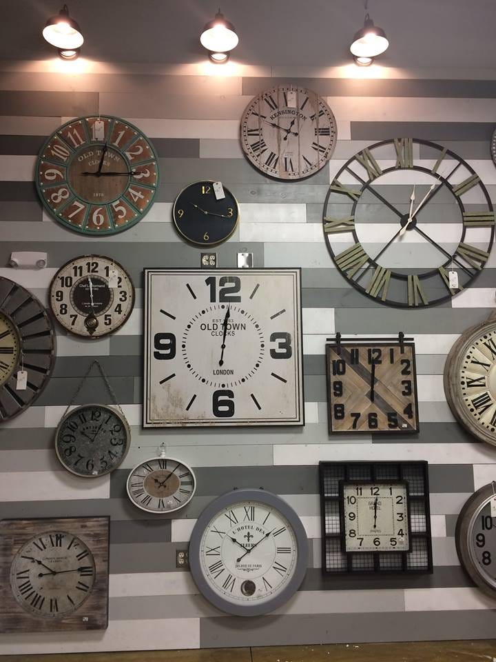 636453040461490091 23231121 224651224738041 460581233479907217 N. A  Selection Of Wall Clocks That Will Be Available At Real Deals On Home Decor  ...