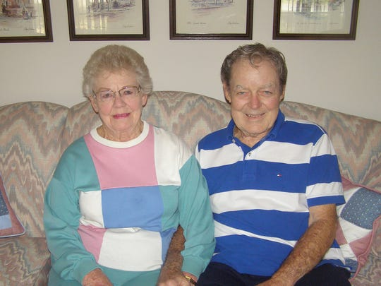 Bud Brown and Shirley Hudson share a storybook love story.