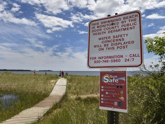 Tips for sun safety are now posted at county beaches.
