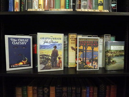 Some of the classics at the Literary bookstore at 5411