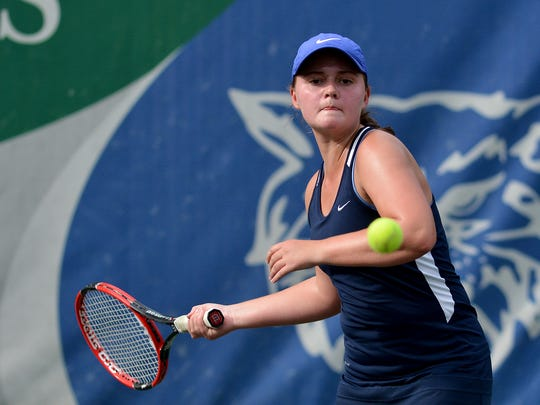 Morgan Kistler was a key part of Dallastown's York-Adams Division I championship team in 2017. She will return for the 2018 seasons. DISPATCH FILE PHOTO