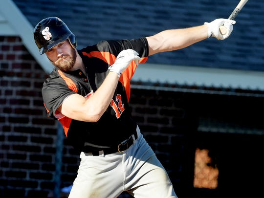 Chris Mattison has a .529 average this season for Stoverstown, including a team-high four homers and 32 RBIs. DISPATCH FILE PHOTO