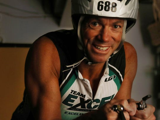 David Musicant completed the Ironman Triathlon in Hawaii