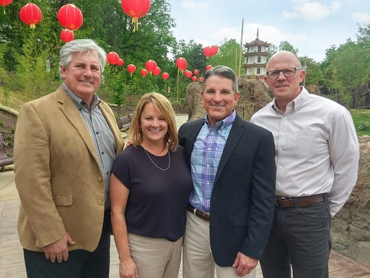 Celebrating the opening of Tiger Forest at Zoo Knoxville