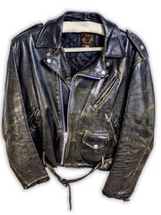 John Mellencamp wore this leather jacket in the 1980s.