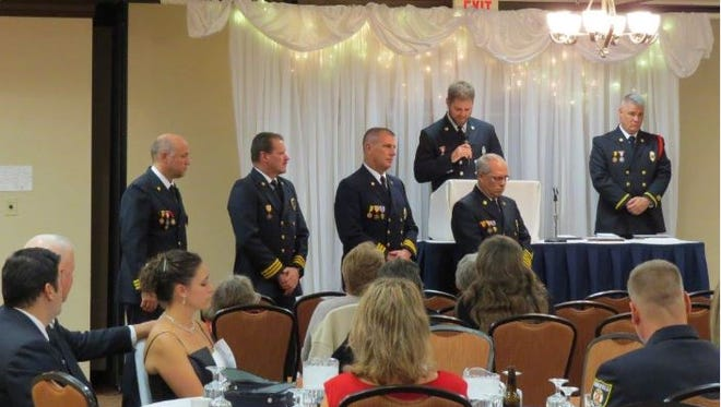 The Mansfield Fire Department  will hold an awards ceremony and Firefighter's Ball on Nov. 4.
