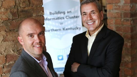 Brad Zapp, left, and Casey Barach of UpTech.