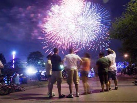 PLY hilltop fireworks tile