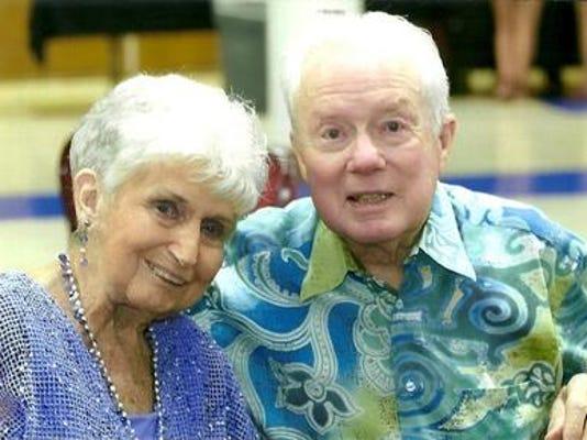 Anniversaries: Gene and Wilma Caldwell & KATHRYN TWIBELL