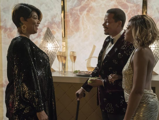 Queen Latifah, left, guest stars with Terrence Howard