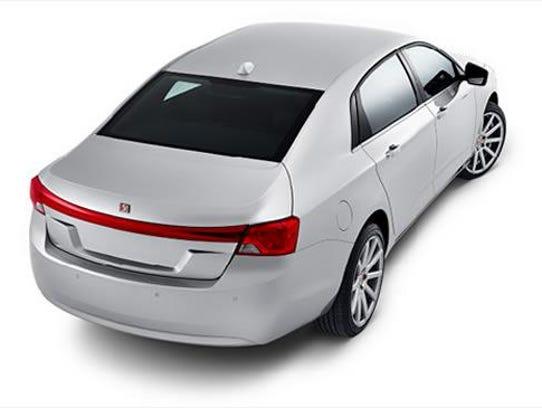WM Motor's XLD Luxury Sedan concept.