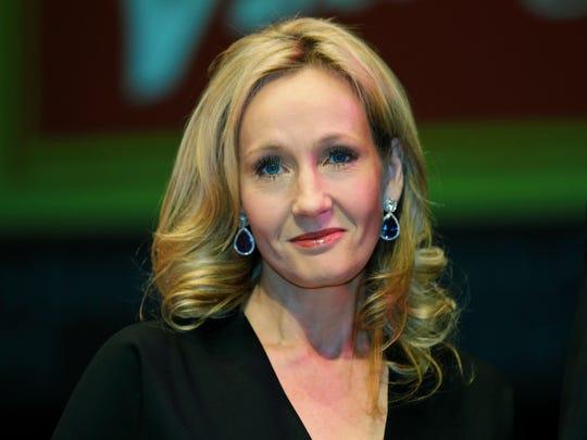British author J.K. Rowling
